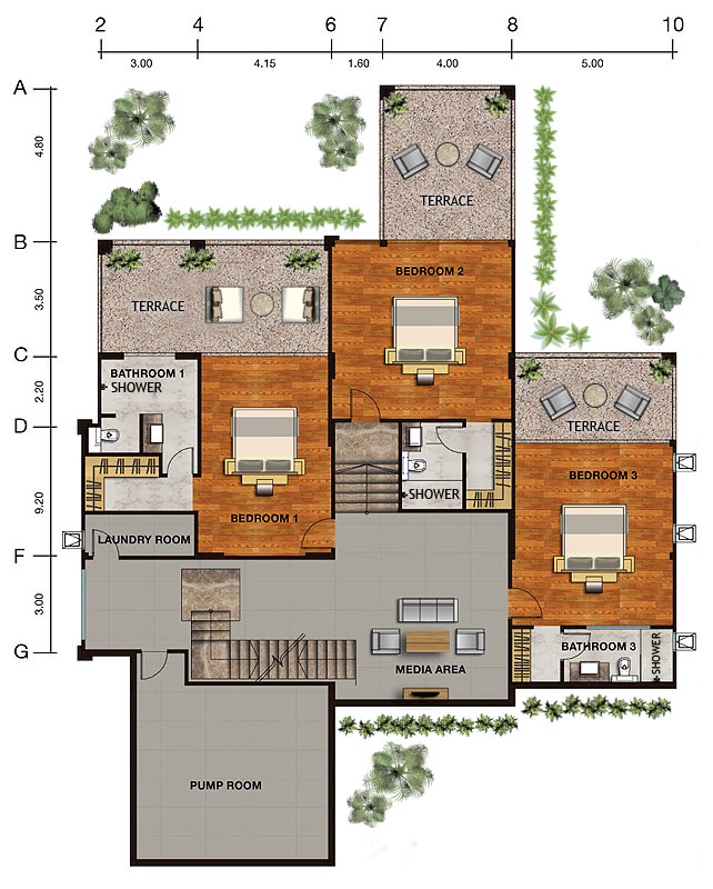 House & Site Layouts and specifications  Vista Del Mar
