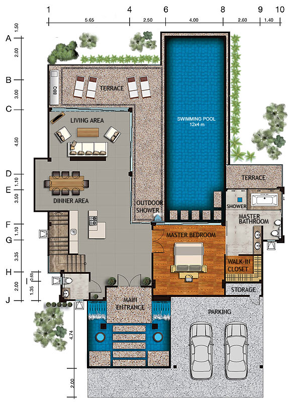 House And Site Layouts & Master Plan