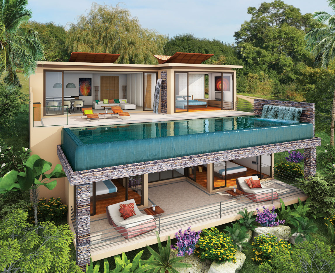 Luxury beach villas for sale phuket vista del mar naithon - Villa de luxe phuket kplusk ...